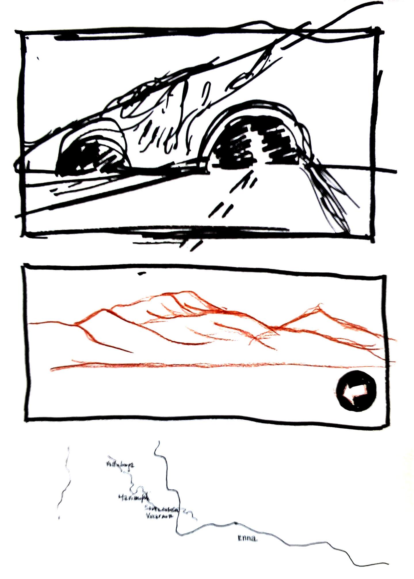 mini fumetto da viaggio pag2
