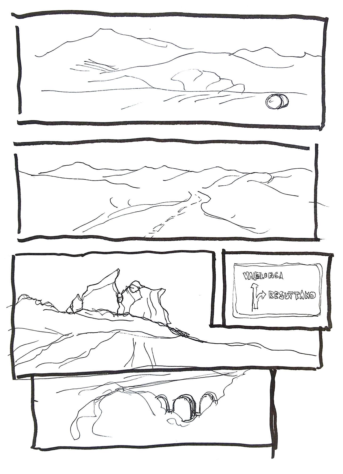 mini fumetto da viaggio pag5